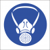 MV2 - Respiratory Protection Safety Sign