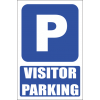 MA12E - Visitor Parking Explanatory Safety Sign