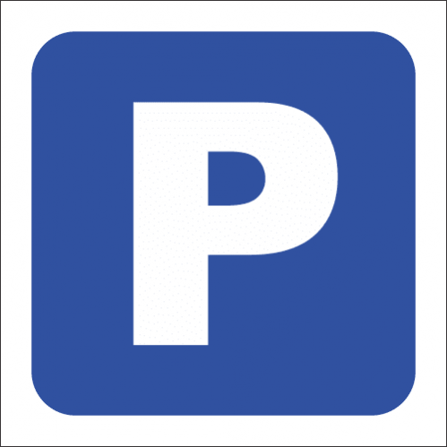 MA12 - Visitor Parking Safety Sign