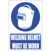 MA1E - Welding Helmet Explanatory Safety Sign