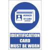 MA23E - Worker Id Explanatory Safety Sign