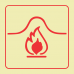 F35 - SABS Fire Blanket Photoluminescent Sign (Glow In The Dark) - 190x190mm