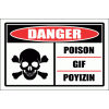 PO9 - Danger Poison Sign