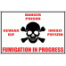 PO10 - Fumigation In Progress Sign
