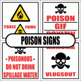 Poison Signs
