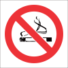 PV1 - SABS No Smoking Safety Sign