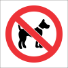 PV20 - SABS No Dogs Allowed Safety Sign