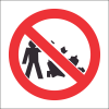 PV23 - SABS No Littering Safety Sign