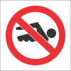PV24 - SABS No Swimming Safety Sign