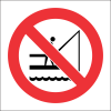PV25 - SABS No Fishing Safety Sign