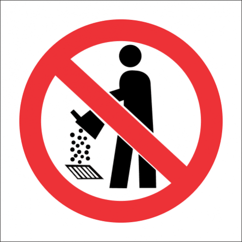 PV28 - SABS No Drain Pollution Safety Sign