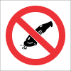PV33 - SABS No Grinding Safety Sign