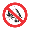 PV34 - SABS No Drugs Safety Sign