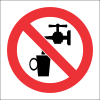 PV5 - SABS No Drinking Water Safety Sign
