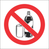 PR5 - No Beverages Sign