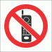 PV27 - No Cellphones Safety Sign