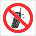 PV27N - No Cellphones Safety Sign