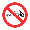 PV32 - No Drilling Safety Sign