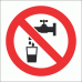 PV5 - No Drinking Water Safety Sign