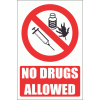 PV34E - No Drugs Explanatory Safety Sign