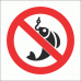 PV25N - No Fishing Safety Sign