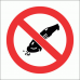 PV33 - No Grinding Safety Sign