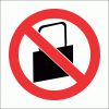 PV31 - No Handbags Safety Sign