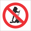 PR2 - No Hiking Sign