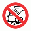 PV23N - No Littering Safety Sign