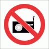 PV36 - No Loud Music Safety Sign