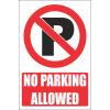 PR29E - No Parking Explanatory Sign