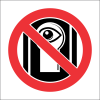 PR36 - No Peeking Sign