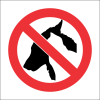 PR32 - No Pets Sign