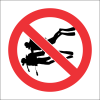 PR25 - No Scuba Diving Sign