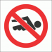 PV24 - No Swimming Safety Sign