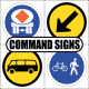 Command Road Signs