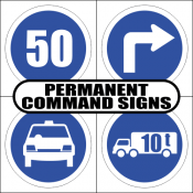 Permanent Command Signs