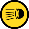 TR133 - Temporary Switch Headlamps On Road Sign