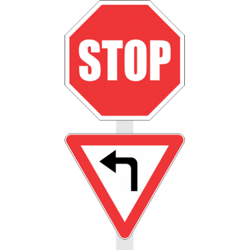 R1.2 - Stop/Yield Sign
