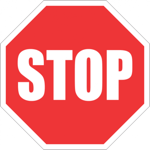 R1 - Stop Road Sign