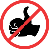 R207 - No Hitch-Hiking Road Sign
