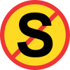 TR217 - Temporary No Stopping Road Sign
