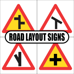 Road Layout Road Signs