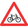 W309 - Cyclists Road Sign