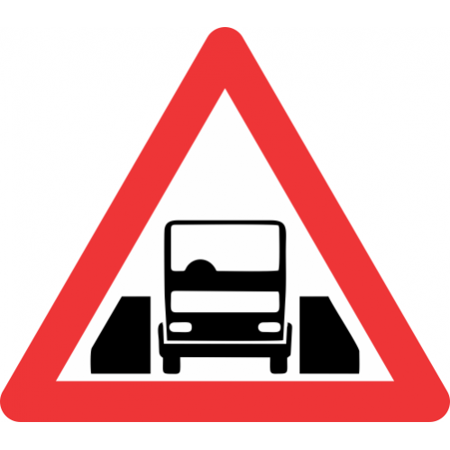 W327 - One Vehicle Width Structure Road Sign