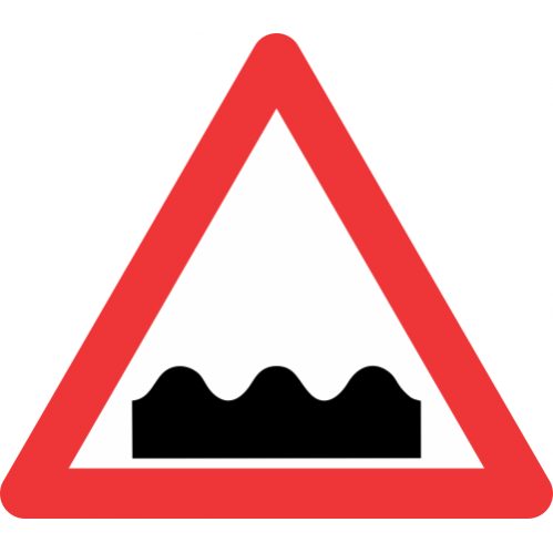W331 - Uneven Roadway Road Sign