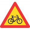 TW309 - Temporary Cyclists Road Sign