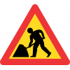 TW336 - Temporary Roadworks Road Sign