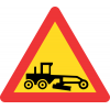 TW337 - Temporary Grader Working Road Sign