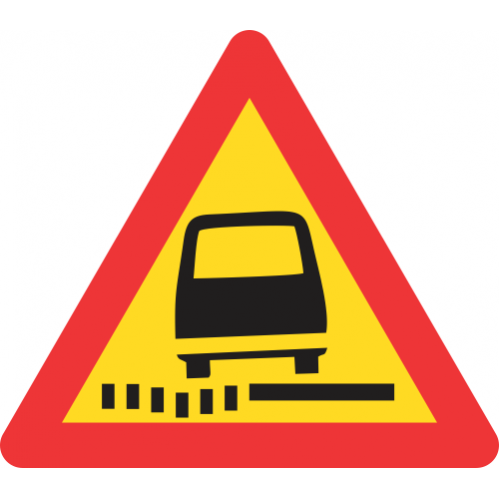 TW342 - Temporary Soft Shoulder Road Sign